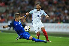 England v Slovakia - 4 Sept 2017