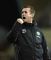 05/01/15 SCOTTISH PREMIERSHIP<br /> KILMARNOCK v CELTIC<br /> RUGBY PARK - KILMARNOCK<br /> A fine win pleases Celtic manager Ronny Deila
