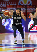 NANJING,CHINA:SEPTEMBER 5th 2019.FIBA World Cup Basketball 2019 Group phase match.Group F. New Zealand vs Greece.Shooting Guard, Corey WEBSTER.<br /> Photo by Jayne Russell / www.PhotoSport.nz