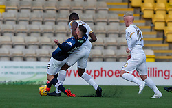 Raith Rovers Ross Matthews and Livingston Marvin Bartley. Livingston 3 v 1 Raith Rovers, William Hill Scottish Cup played 18/1/2020 at the Livingston home ground, Tony Macaroni Arena.