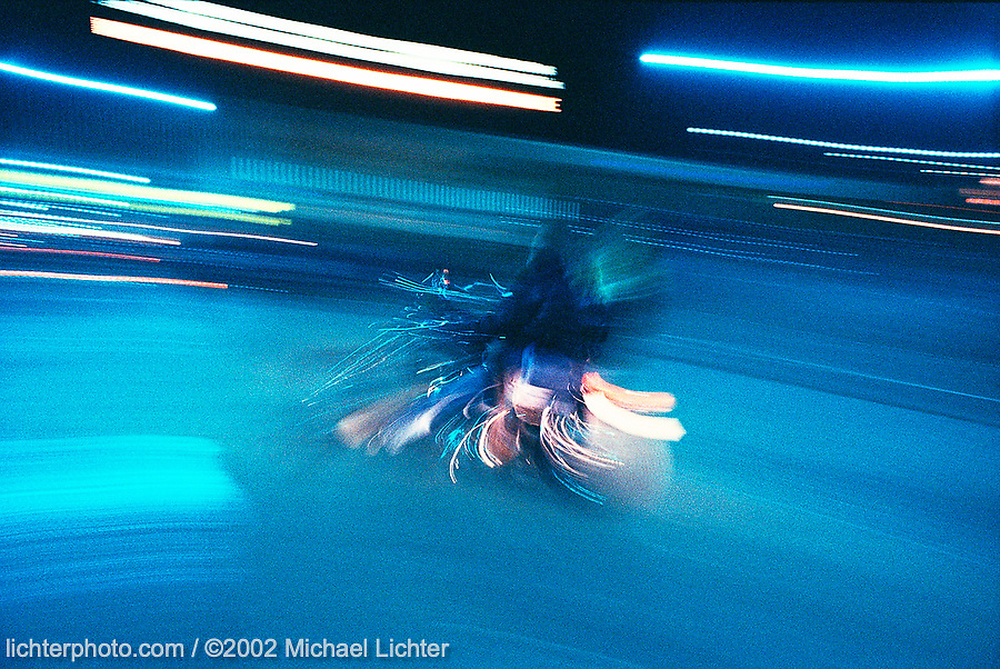 Blue Night, Sturgis, South Dakota, 1988<br /> <br /> Limited Edition Print from an edition of 50. Photo ©1988 Michael Lichter.