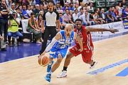 DESCRIZIONE : Campionato 2014/15 Dinamo Banco di Sardegna Sassari - Olimpia EA7 Emporio Armani Milano Playoff Semifinale Gara6<br /> GIOCATORE : David Logan<br /> CATEGORIA : Palleggio Penetrazione<br /> SQUADRA : Dinamo Banco di Sardegna Sassari<br /> EVENTO : LegaBasket Serie A Beko 2014/2015 Playoff Semifinale Gara6<br /> GARA : Dinamo Banco di Sardegna Sassari - Olimpia EA7 Emporio Armani Milano Gara6<br /> DATA : 08/06/2015<br /> SPORT : Pallacanestro <br /> AUTORE : Agenzia Ciamillo-Castoria/L.Canu