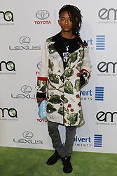 BURBANK, CA - OCTOBER 22: Actor Jaden Smith attends the 26th annual EMA Awards presented by Toyota and Lexus and hosted by the Environmental Media Association at Warner Bros. Studios on October 22, 2016 in Burbank, California. Byline, credit, TV usage, web usage or linkback must read SILVEXPHOTO.COM. Failure to byline correctly will incur double the agreed fee. Tel: +1 714 504 6870.