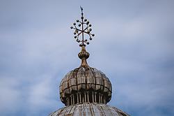THEMENBILD - Kirchturm am Markusplatz, aufgenommen am 05. Oktober 2019 in Venedig, Italien // Church tower at St. Mark's Square, in Venice, Italy on 2019/10/05. EXPA Pictures © 2019, PhotoCredit: EXPA/Stefanie Oberhauser