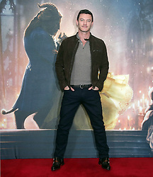 Luke Evans during a photo call with the cast of Beauty and the Beast, at The Corinthia Hotel, London.