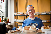Tony bakes for Kenny & Zukes in Portland, Oregon.