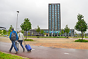 Nederland, Nijmegen, 3-5-2017Bij het NS station, treinstation Lent Nijmegen Noord staat een nieuw Van der Valk hotel.Het wordt gebruikt door o.a. toeristen en zakenlui.Foto: Flip Franssen