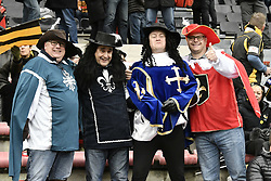 December 15, 2018 - Toulouse, France - Supporters des Wasps (Credit Image: © Panoramic via ZUMA Press)