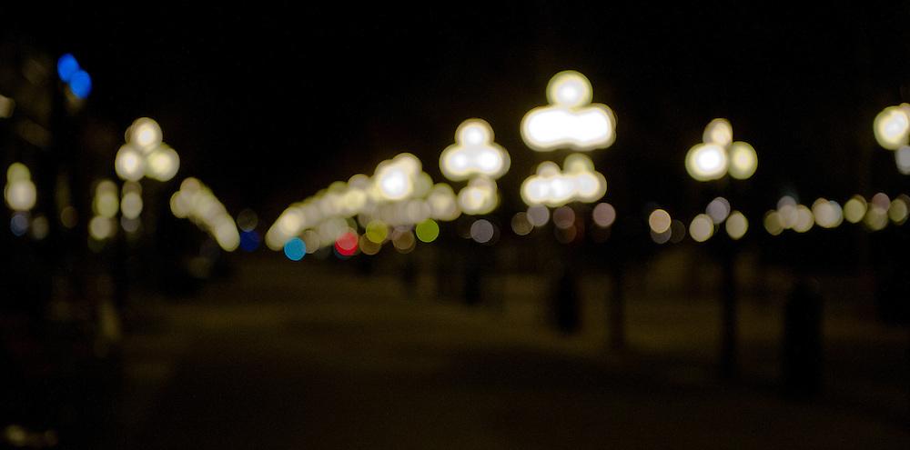 Park lights in Stockholm