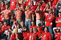 Fotball tippeligaen 05.06.06 Rosenborg - Brann 0-0<br /> Illustrasjon, supportere<br /> Foto: Carl-Erik Eriksson, Digitalsport