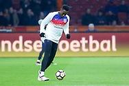England Danny Welbeck in warm up during the Friendly match between Netherlands and England at the Amsterdam Arena, Amsterdam, Netherlands on 23 March 2018. Picture by Phil Duncan.