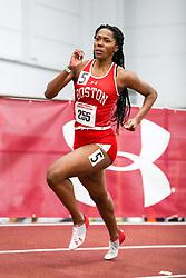 womens 200 meters, heat 4, BU, Alicia Thomas<br /> BU John Terrier Classic <br /> Indoor Track & Field Meet