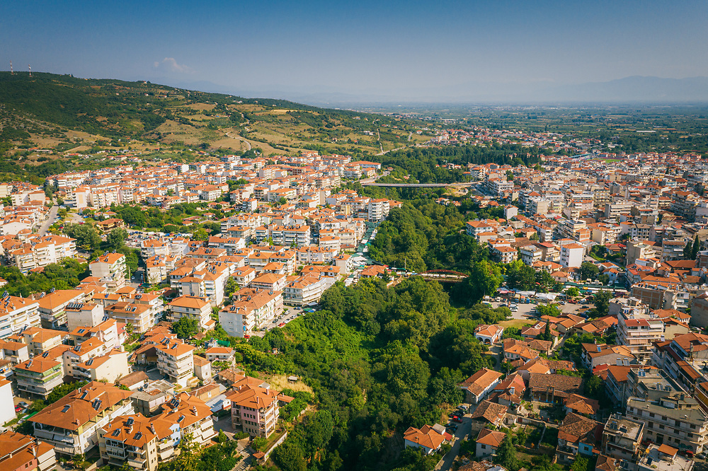 Town of Veria in central Macedonia, Greece
