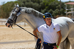 Alexander Housen, BEL, Casillas van de Helle<br /> FEI Jumping European Championships for Young Riders, Juniors, Children - Vilamoura 2021<br /> © Hippo Foto - Leanjo de Koster