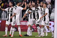 Esultanza Blaise Matuidi Juventus Goal celebration <br /> Torino 26-09-2018 Allianz Stadium Football Calcio Serie A 2018/2019 Juventus - Bologna  <br /> Foto OnePlusNine / Insidefoto