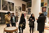 Tehran. Iran.  Art Galleries