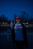 Jessica Scott, from Indiana, visits Washington DC for the Inauguration of Donald J. Trump.<br />