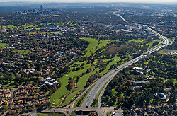 JOHANNESBURG, May 1, 2020  Aerial photo taken on May 1, 2020 shows the city view of Johannesburg, South Africa. South Africa started easing lockdown restrictions from Friday. (Credit Image: © Chen Cheng/Xinhua via ZUMA Wire)