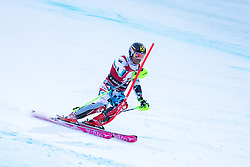 29.12.2016, Deborah Compagnoni Rennstrecke, Santa Caterina, ITA, FIS Ski Weltcup, Santa Caterina, alpine Kombination, Herren, Slalom, im Bild Marcel Hirscher (AUT, 2. Platz) // second placed Marcel Hirscher of Austria in action during his run of Slalom competition for the men's Alpine combination of FIS Ski Alpine World Cup at the Deborah Compagnoni race course in Santa Caterina, Italy on 2016/12/29. EXPA Pictures © 2016, PhotoCredit: EXPA/ Johann Groder
