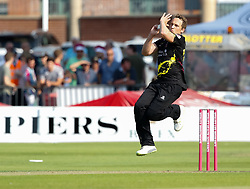Somerset's Josh Davey<br /> <br /> Photographer Simon King/Replay Images<br /> <br /> Vitality Blast T20 - Round 1 - Somerset v Gloucestershire - Friday 6th July 2018 - Cooper Associates County Ground - Taunton<br /> <br /> World Copyright © Replay Images . All rights reserved. info@replayimages.co.uk - http://replayimages.co.uk