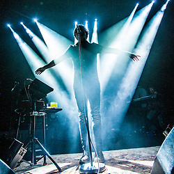 Paolo Nutini on stage at The Usher Hall