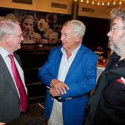 NLD/Amsterdam/20110929 - Presentatie biografie Mies Bouwman, Jan Nagel, Koos Postema en Maarten van Rossum