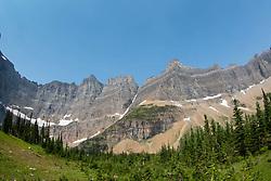 Iceberg Peak, Glacier National Park, Montana, US