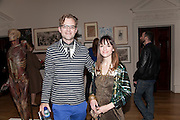 PETER HARRAP; NATASHA KISSELL, No New Thing Under the Sun. Royal Academy. Piccadilly. London. 20 OCTOBER 2010. -DO NOT ARCHIVE-© Copyright Photograph by Dafydd Jones. 248 Clapham Rd. London SW9 0PZ. Tel 0207 820 0771. www.dafjones.com.