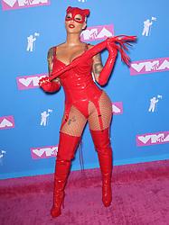 August 21, 2018 - New York City, New York, USA - 8/20/18.Amber Rose at the 2018 MTV Video Music Awards at Radio City Music Hall in New York City. (Credit Image: © Starmax/Newscom via ZUMA Press)