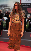 Elisa Sednaoui at the gala screening for the film The Danish Girl  at the 72nd Venice Film Festival, Saturday September 5th 2015, Venice Lido, Italy.