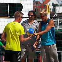 Europe, Norway, Stavanger. FIVB Beach Volleyball Athletes in Grand Slam Event in Stavanger.