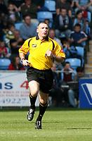 Photo: Mark Stephenson.<br />Coventry City v Queens Park Rangers. Coca Cola Championship. 07/04/2007. Referee Mr P Miller