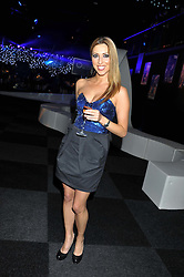 TV presenter KATE WALSH at the annual Collars & Coats Gala Ball in aid of Battersea Dogs & Cats Home held at Battersea Evolution, Battersea Park, London on 11th November 2011.