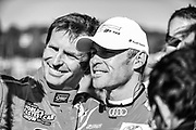 September 30-October 1, 2011: Petit Le Mans at Road Atlanta. Justin Bell, 2 Tom Kristensen, Audi R18, Audi Sport Team Joest