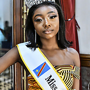 Miss Congo UK 2018-2019 Daniela Mesa attend the Mr & Miss Congo 2020,on 29th February 2020 at Old Townhall,Stratford, London, UK.