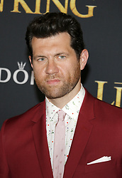 Billy Eichner at the World premiere of 'The Lion King' held at the Dolby Theatre in Hollywood, USA on July 9, 2019.