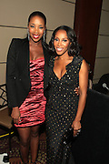 October 19, 2012-New York, NY: (L-R) DJ Kiss and Celebrity Stylist June Ambrose at the BRAG 42nd Annual Scholarship & Scholarship Awards Dinner Gala held at Pier Sixty at Chelsea Piers on October 19, 2012 in New York City. BRAG, a 501 (c) (3) not for profit organization, is dedicated to the inclusion of African Americans and all people of color in retail and related industries.  (Terrence Jennings)