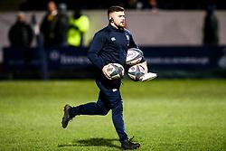 England U20 Coach James Tirrell - Mandatory by-line: Robbie Stephenson/JMP - 07/02/2020 - RUGBY - Myreside - Edinburgh, Scotland - Scotland U20 v England U20 - Six Nations U20