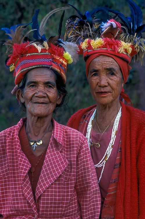 Ifugao tribeswomen, Banaue, Luzon, Philippines