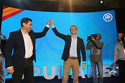 November 2, 2018 - 2-11-2019 (Malaga) The leader of the PP, Pablo Casado, has accused the government of ''complicity'' with the crimes committed by politicians imprisoned by the procés for ''hindering'' the work of the State Lawyers in this case.  During his speech at the inauguration of the 24th Popular Interparliamentary Union in Malaga, Casado has referred in this way to the decision of the Legal Profession not to accuse of rebellion the pro-independence politicians, but only of embezzlement and sedition (Credit Image: © Lorenzo Carnero/ZUMA Wire)