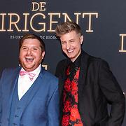 NLD/Amsterdam/20181023 -  Film premiere De Dirigent, Michael Watson-Gray en Scott Turner Schofield