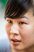 28 MARCH 2013 - BANGKOK, THAILAND: Michelle Kao.     PHOTO BY JACK KURTZ