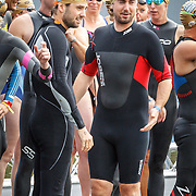 NLD/Amsterdam/20150906 - Amsterdam City Swim 2015, Ruud Feltkamp en Lennart Timmerman