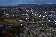 The town of Fogo on Fogo Island, Newfoundland