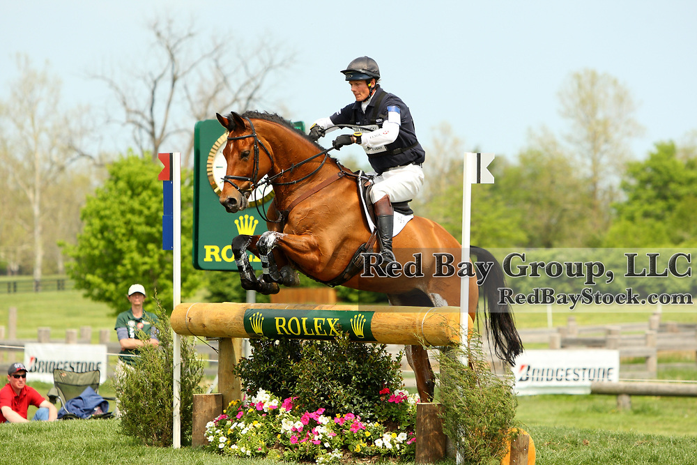 William Fox-Pitt and Neuf des Coeurs at the 2011 Rolex Kentucky Three-Day Event in Lexington, KY.