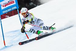 Andrea Filser (GER) during Ladies' Giant Slalom at 57th Golden Fox event at Audi FIS Ski World Cup 2020/21, on January 17, 2021 in Podkoren, Kranjska Gora, Slovenia. Photo by Vid Ponikvar / Sportida