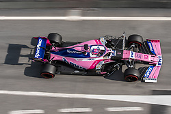 February 19, 2019 - Montmelo, BARCELONA, Spain - SPAIN, BARCELONA, 19 February 2019. Stroll od Racing Point  team during the second day of winter test at Circuit de Barcelona  Catalunya (Credit Image: © AFP7 via ZUMA Wire)