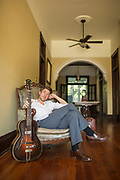 Luke Winslow King portrait in Arabi on Tuesday, may 9, 2017. (Photo by Chris Granger, NOLA.com | The Times-Picayune)