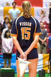 24-06-2000 JAP: OKT Volleybal 2000, Tokyo<br /> Nederland vs Argentinie 3-1 / Ingrid Visser