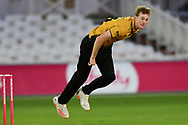 Tom Taylor of Leicestershireduring the Vitality T20 Blast North Group match between Nottinghamshire County Cricket Club and Leicestershire County Cricket Club at Trent Bridge, Nottingham, United Kingdom on 4 September 2020.